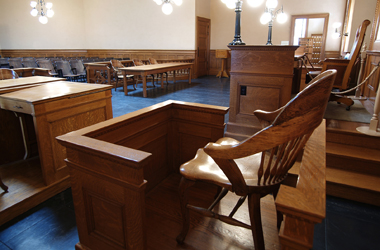 Witness Chair Photo